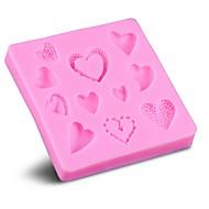 お買い得  キッチン用小物-キッチンツール シリコン 持ち運びが容易 DIYの金型 チョコレート 1個