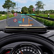 お買い得  カーエレクトロニクス-ziqiao普遍的な車のGPSのhudヘッドアップディスプレイホルダー車の表示km / h mph