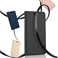 Недорогие Чехлы и кейсы для Galaxy S7 Edge-Кейс для Назначение SSamsung Galaxy S9 S9 Plus со стендом Флип Магнитный Чехол Сплошной цвет Твердый Кожа PU для S9 Plus S9 S8 Plus S8 S7