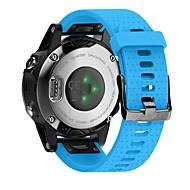 Недорогие Аксессуары для смарт-часов-Ремешок для часов для Fenix 5s Fitbit Современная застежка силиконовый Повязка на запястье
