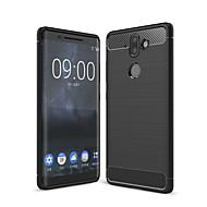 お買い得  携帯電話ケース-ケース 用途 Nokia Nokia 9 つや消し バックカバー ソリッド ソフト TPU のために Nokia 9