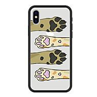 Недорогие Кейсы для iPhone 8 Plus-Кейс для Назначение Apple iPhone X iPhone 8 Plus С узором Кейс на заднюю панель Кот С собакой Мультипликация Твердый Акрил для iPhone X