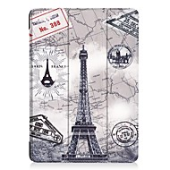 cheap iPad  Cases / Covers-Case For Apple iPad (2017) with Stand Full Body Cases Word / Phrase Owl Cartoon Hard PU Leather for iPad 9.7 (2017)
