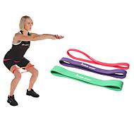 お買い得  -KYLINSPORT エクササイズ用レジスタンスバンド と 1 pcs ゴム アスレチックトレーニング 筋力トレーニング, 懸垂, 理学療法 ために ヨガ / ピラティス / フィットネス 男女兼用 家 / オフィス