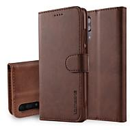 economico Custodie per cellulari-Custodia Per Huawei P20 Pro P20 A portafoglio Con supporto Con chiusura magnetica Integrale Tinta unita Resistente pelle sintetica per