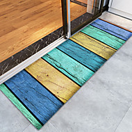 abordables Alfombras y moquetas-Creativo Deportes y Exterior Campestre Las alfombras de área Franela de Algodón, Calidad superior Rectángulo A Rayas Arco iris Alfombra