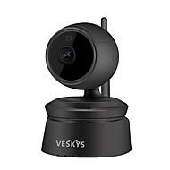 お買い得  -veskys®2.0mp 1080p hd無線wifi ipカメラ赤外線ナイトビジョン双方向音声インターホン