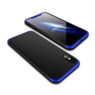 Недорогие Кейсы для iPhone 8 Plus-Кейс для Назначение Apple iPhone X iPhone 8 Защита от удара Матовое Кейс на заднюю панель Однотонный Твердый ПК для iPhone X iPhone 8