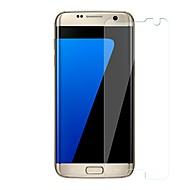 Недорогие Чехлы и кейсы для Galaxy S-Защитная плёнка для экрана для Samsung Galaxy S7 edge Закаленное стекло 1 ед. Защитная пленка для экрана Уровень защиты 9H / Защита от царапин
