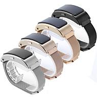 Недорогие Аксессуары для смарт-часов-Ремешок для часов для Huawei B3 Huawei Миланский ремешок Нержавеющая сталь Повязка на запястье