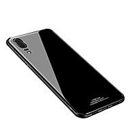 tok Για Huawei P20 / P20 lite IMD / Καθρέφτης Πίσω Κάλυμμα Μονόχρωμο Σκληρή Ψημένο γυαλί για Huawei P20 / Huawei P20 Pro / Huawei P20 lite