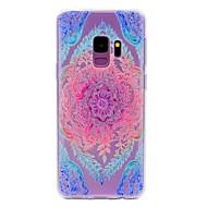 Χαμηλού Κόστους Θήκες / Καλύμματα Galaxy S Series-tok Για Samsung Galaxy S9 S9 Plus Με σχέδια Πίσω Κάλυμμα Lace Εκτύπωση Μαλακή TPU για S9 Plus S9 S8 S7 edge S7