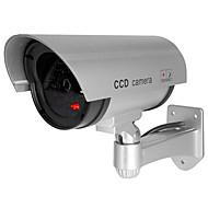 저렴한 -veskys® 방수 옥외 보안 가짜 감시 카메라 home shop garage 용 cctv 보안 시뮬레이션 카메라 플래시 웹캠