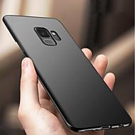 olcso Galaxy S7 Edge tokok-Case Kompatibilitás Samsung Galaxy S9 S9 Plus Ütésálló Ultra-vékeny Fekete tok Egyszínű Kemény PC mert S9 Plus S9 S8 Plus S8 S7 edge S7
