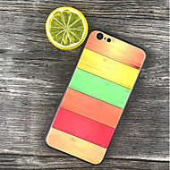 Недорогие Кейсы для iPhone 8 Plus-Кейс для Назначение Apple iPhone X / iPhone 8 Plus Защита от удара / Матовое / С узором Кейс на заднюю панель Геометрический рисунок