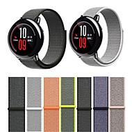 Недорогие Аксессуары для смарт-часов-Ремешок для часов для Huami Amazfit A1602 Xiaomi Современная застежка Нейлон Повязка на запястье