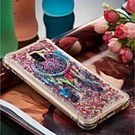Недорогие Чехлы и кейсы для Galaxy A3(2016)-Кейс для Назначение SSamsung Galaxy A8 Plus 2018 / A8 2018 Защита от удара / Движущаяся жидкость / С узором Кейс на заднюю панель Ловец