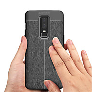preiswerte Handyhüllen-Hülle Für OnePlus OnePlus 6 / OnePlus 5T Geprägt Rückseite Solide Weich TPU für OnePlus 6 / One Plus 5 / OnePlus 5T