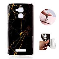 お買い得  携帯電話ケース-ケース 用途 Asus Zenfone 3 Max ZC520TL パターン バックカバー マーブル ソフト TPU のために Asus Zenfone 3 Max ZC520TL