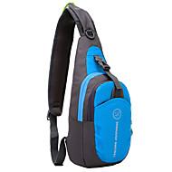 voordelige Kampeer- & Backpackingaccessoires-6 L Schoudertas - Lichtgewicht, Regenbestendig, Draagbaar Buiten Wandelen, Kamperen Oxford Rood, Groen, Blauw