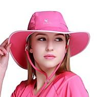abordables Sombreros, Capas y Bandanas-VEPEAL Gorra para senderismo Sombrero Resistente al Viento Secado rápido Transpirabilidad Verano Rosa Rojo Unisex Pesca Senderismo Paseo Un Color Malla Adulto