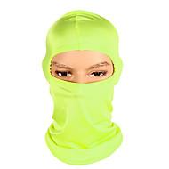 Kominiarki Maska Odporność na wiatr Filtr przeciwsłoneczny Ciepłe Oddychalność Rower / Kolarstwo Zielony Niebieski Różowy Spandeks na Unisex Dla dorosłych Kemping i turystyka Ćwiczenia na zewnątrz