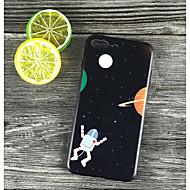 Недорогие Кейсы для iPhone 8-Кейс для Назначение Apple iPhone X / iPhone 8 Plus Защита от удара / Матовое / С узором Кейс на заднюю панель Мультипликация Твердый ПК