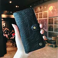 preiswerte Handyhüllen-Hülle Für Huawei P20 / P20 Pro Geldbeutel / Kreditkartenfächer / Flipbare Hülle Ganzkörper-Gehäuse Solide Hart Echtleder für Huawei P20 /