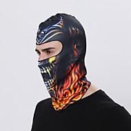 Χαμηλού Κόστους Αθλητικά ρούχα-Μάσκα Προσώπου balaclavas Όλες οι εποχές Αντιανεμικό Με προστασία από την σκόνη Αντιηλιακό Ικανότητα να αναπνέει Ποδηλασία / Ποδήλατο Για