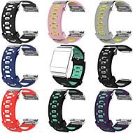 Недорогие Аксессуары для смарт-часов-Ремешок для часов для Fitbit ionic Fitbit Спортивный ремешок силиконовый Повязка на запястье