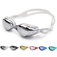 abordables Deportes Acuáticos-Gafas de natación Anti vaho / Tamaño Ajustable / Impermeable Gel de sílice PC Blanco / Negro / Azul Oscuro Verde / Rosa / Negro