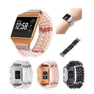 cheap -Watch Band for Fitbit ionic Fitbit Jewelry Design Metal Wrist Strap