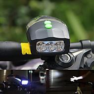 preiswerte Taschenlampen, Laternen & Lichter-Fahrradlicht LED Radlichter Radsport Wasserfest, Tragbar, Schnellspanner Li-Ionen 200 lm Weiß Camping / Wandern / Erkundungen / Radsport / Mehrere Modi