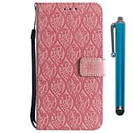 preiswerte Handyhüllen-Hülle Für Huawei Mate 10 pro / Mate 10 Lite Geldbeutel / Kreditkartenfächer / mit Halterung Ganzkörper-Gehäuse Blume Hart PU-Leder für