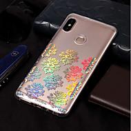 お買い得  携帯電話ケース-ケース 用途 Xiaomi Redmi Note 5 Pro / Redmi 5A メッキ仕上げ / パターン バックカバー レース印刷 ソフト TPU のために Xiaomi Redmi Note 5 Pro / Xiaomi Redmi 5 Plus / Redmi 5A