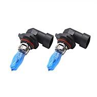 Недорогие Внешние огни для авто-2pcs H11 / 9005 / 9006 Автомобиль Лампы 100W 1 Светодиодная лампа Противотуманные фары / Фары дневного света / Внешние осветительные