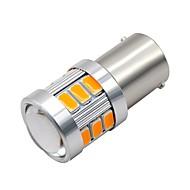 Недорогие Задние фонари-SO.K 2pcs 1156 Мотоцикл / Автомобиль Лампы 3 W SMD 5730 300 lm 18 Светодиодная лампа Фары дневного света / Лампа поворотного сигнала / Мотоцикл For Универсальный Все года