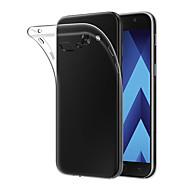 Недорогие Чехлы и кейсы для Galaxy A3(2017)-Кейс для Назначение SSamsung Galaxy A3(2017) Прозрачный Кейс на заднюю панель Однотонный Мягкий ТПУ для A3 (2017)