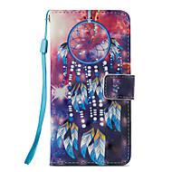 Недорогие Кейсы для iPhone 8-Кейс для Назначение Apple iPhone X / iPhone 8 Бумажник для карт / со стендом / Флип Чехол Ловец снов Твердый Кожа PU для iPhone X /