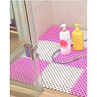 abordables Alfombras y moquetas-1pc Clásico / Modern Esteras de Baño Plásticos / CLORURO DE POLIVINILO Geométrico Cuadrado Baño Antideslizante