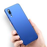 preiswerte Handyhüllen-Hülle Für Huawei P20 Pro / P20 lite Ultra dünn / Mattiert Rückseite Solide Hart PC für Huawei P20 / Huawei P20 Pro / Huawei P20 lite