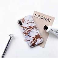 お買い得  -FENCUS ケース 用途 Apple iPhone X / iPhone 6 パターン バックカバー マーブル ソフト TPU のために iPhone X / iPhone 8 Plus / iPhone 8