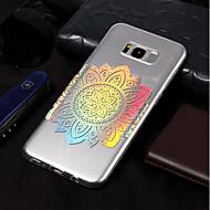 Недорогие Чехлы и кейсы для Galaxy S8 Plus-Кейс для Назначение SSamsung Galaxy S9 / S9 Plus IMD / С узором Кейс на заднюю панель Цветы Мягкий ТПУ для S9 Plus / S9 / S8 Plus