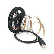 halpa LED-hehkulamput-ZDM® 2m Koristevalot 300 LEDit SMD 2835 Lämmin valkoinen / Kylmä valkoinen Leikattava / USB / Yhdistettävä USB käyttöinen 1kpl / Itsekiinnittyvä