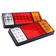 Недорогие Задние фонари-ziqiao 1 пара 12v 36 светодиодные фонари автомобилей задние фонари задние фонари водонепроницаемые задние задние части для прицепа