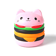 cheap Toy & Game-Squeeze Toy / Sensory Toy / Stress Reliever Cat / Hamburger Stress and Anxiety Relief / Decompression Toys Others 1pcs Children's All Gift