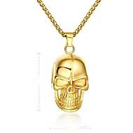 お買い得  -幾何学模様 ペンダントネックレス  -  ヴィンテージ ゴールド 50 cm ネックレス 用途 贈り物, 日常