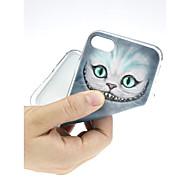 お買い得  -ケース 用途 Apple iPhone X / iPhone 7 超薄型 / パターン / かわいい バックカバー 風景 ソフト TPU のために iPhone X / iPhone 8 Plus / iPhone 8
