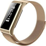 お買い得  -スマートブレスレット B28 のために iOS / Android 血圧測定 / 消費カロリー / 長時間スタンバイ / タッチスクリーン / 耐水 睡眠サイクル計測器 / 座りがちなリマインダー / エクササイズリマインダー / 脈拍計 / 歩数計 / 心拍計 / カメラコントロール / 400から480
