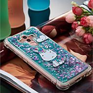 preiswerte Handyhüllen-Hülle Für Huawei Mate 10 pro / Mate 10 Lite Stoßresistent / Mit Flüssigkeit befüllt / Muster Rückseite Einhorn Weich TPU für Mate 10 pro